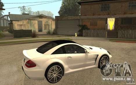 Mercedes-Benz SL65 AMG BS für GTA San Andreas rechten Ansicht