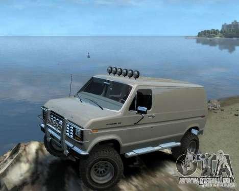Ford Econoline 150 pour GTA 4 est un droit