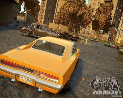 Dodge Charger Magnum 1970 für GTA 4 rechte Ansicht