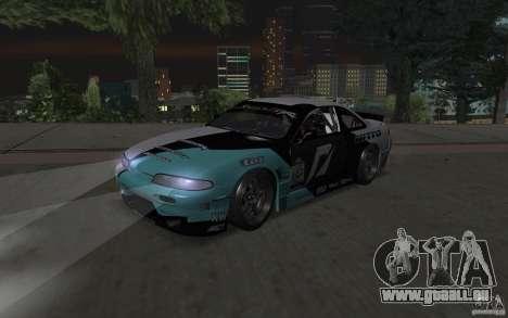 Nissan S14 Matt Powers 2012 pour GTA San Andreas laissé vue