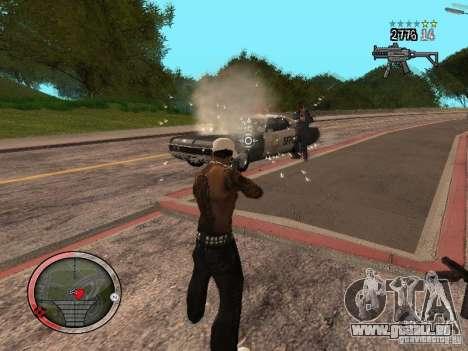 GTA IV HUD Final pour GTA San Andreas sixième écran
