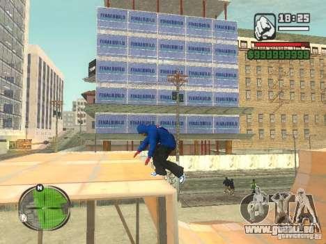 RunMan für GTA San Andreas dritten Screenshot
