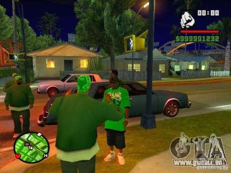 50 cent Skin pour GTA San Andreas quatrième écran