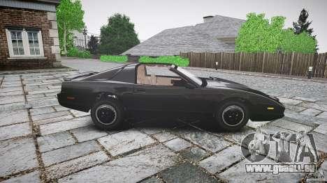 KITT Knight Rider für GTA 4 Seitenansicht