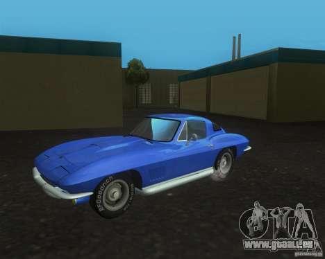 Chevrolet Corvette 427 pour GTA San Andreas