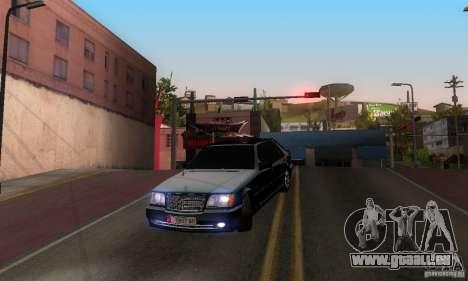 Mercedes-Benz W140 S600 Long Deputat Style pour GTA San Andreas vue intérieure