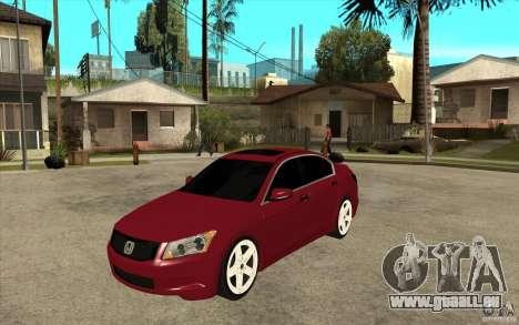 Honda Accord 2008 v2 pour GTA San Andreas
