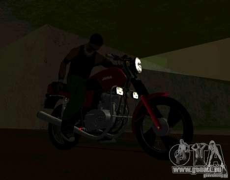 Jawa 350-638 Luxe für GTA San Andreas rechten Ansicht