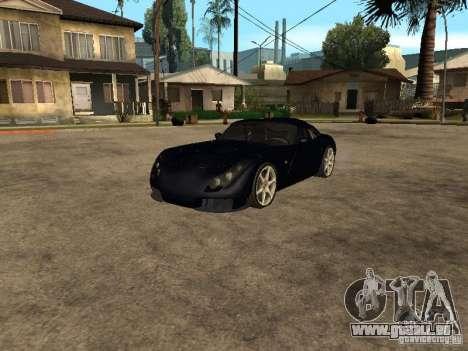 TVR Sagaris pour GTA San Andreas laissé vue