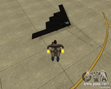 B-2 Spirit Stealth für GTA San Andreas rechten Ansicht