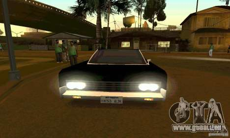 Lincoln Continental 1966 für GTA San Andreas rechten Ansicht
