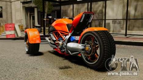 Ducati Diavel Reversetrike pour GTA 4 Vue arrière de la gauche