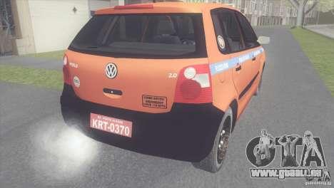 VW Polo Taxi de Porto Alegre für GTA San Andreas linke Ansicht