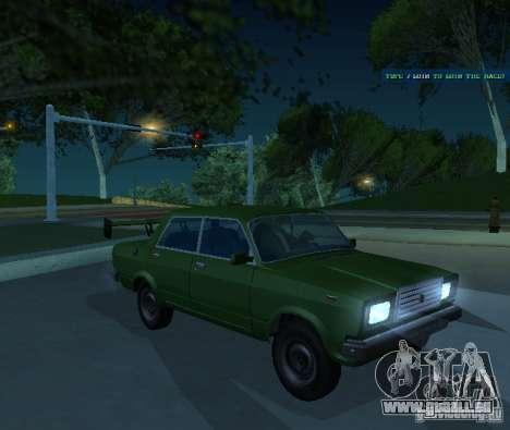VAZ 2107 ermöglicht für GTA San Andreas