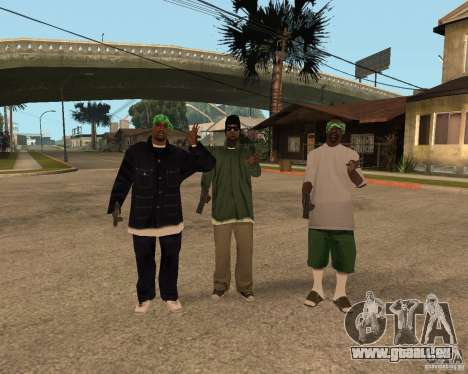 Ballasy's Grove für GTA San Andreas her Screenshot