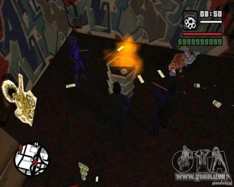 Clochards dans la ruelle pour GTA San Andreas quatrième écran