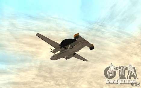 E-C2 Hawkeye pour GTA San Andreas vue de droite