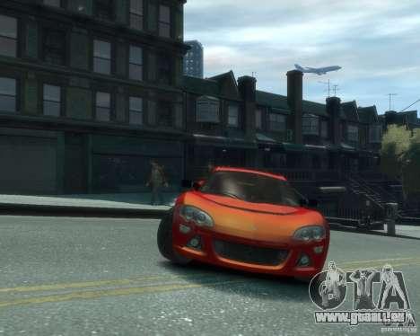 Lotus Europa S für GTA 4 Rückansicht