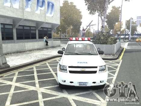 Chevrolet Tahoe NYCPD pour GTA 4 est un droit