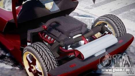 Koenigsegg CCRT für GTA 4 Seitenansicht