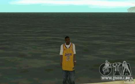 Afro-American HD skin für GTA San Andreas