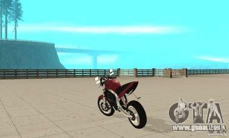 GTAIV BF400 FINAL für GTA San Andreas zurück linke Ansicht