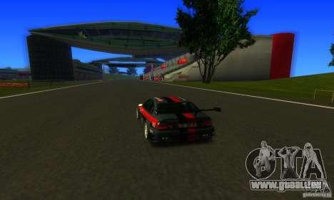 F1 Shanghai International Circuit pour GTA San Andreas troisième écran