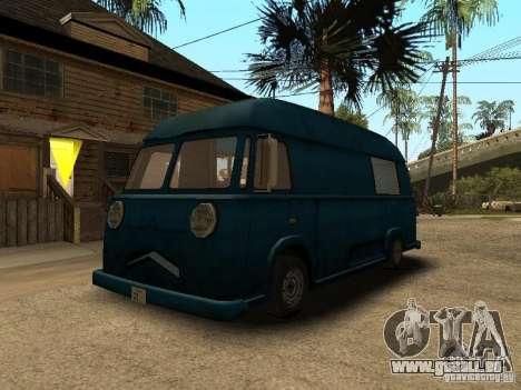 Hotdog civil Van pour GTA San Andreas