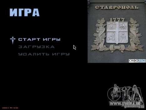 Boot-Bildschirm der Stadt Stawropol für GTA San Andreas dritten Screenshot