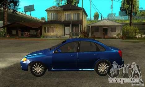 Chevrolet Optra 2011 pour GTA San Andreas laissé vue