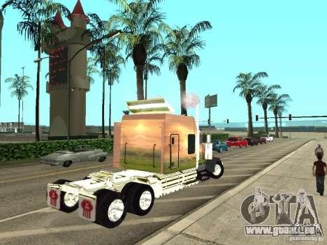 Kenworth W900 für GTA San Andreas rechten Ansicht