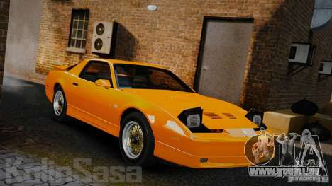 Pontiac Firebird Trans Am GTA 1987 [EPM] pour GTA 4
