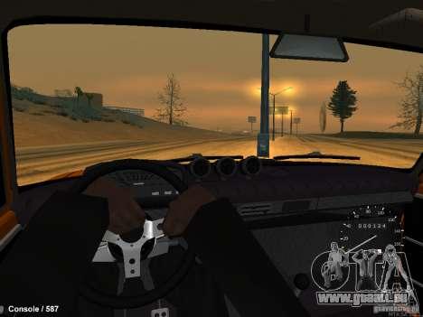 VAZ 2101 Hobo für GTA San Andreas zurück linke Ansicht
