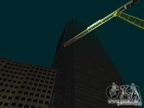 Nouvelle ville v1 pour GTA San Andreas quatrième écran