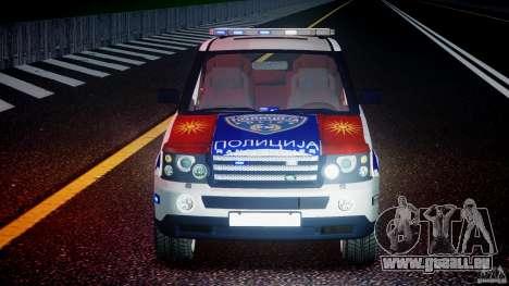 Range Rover Macedonian Police [ELS] für GTA 4 Unteransicht