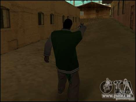 Waffe in einer hand für GTA San Andreas her Screenshot