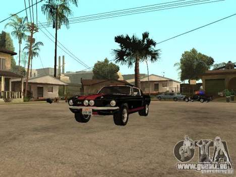 Shelby Mustang GT 500 pour GTA San Andreas
