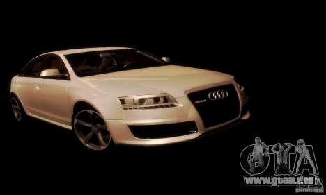 Audi RS6 TT für GTA San Andreas Innenansicht