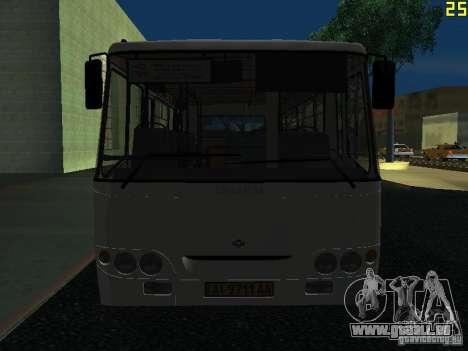 Bogdan A09202 v2 pour GTA San Andreas vue de côté
