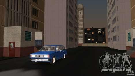 Arzamas bêta 2 pour GTA San Andreas deuxième écran