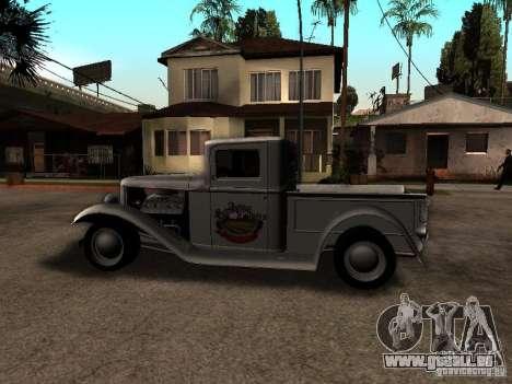 Ford Farmtruck für GTA San Andreas linke Ansicht