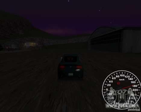 Compteur de vitesse 2.0 finale pour GTA San Andreas deuxième écran