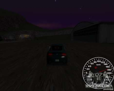 Tachometer 2.0 final für GTA San Andreas zweiten Screenshot