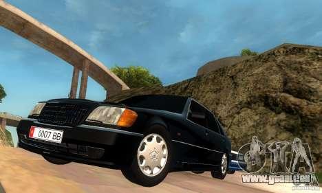Mercedes-Benz W140 S600 Long Deputat Style pour GTA San Andreas