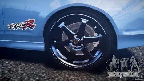 Acura RSX TypeS v1.0 Volk TE37 pour GTA 4 est une vue de dessous