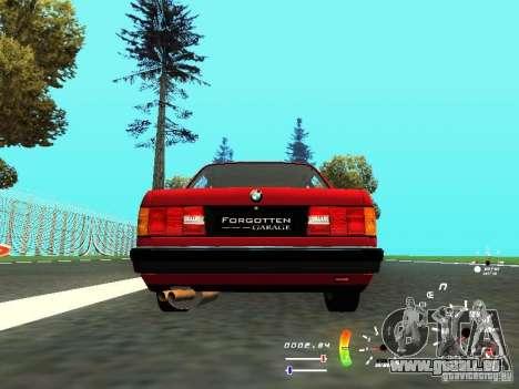 BMW E30 87-91 für GTA San Andreas rechten Ansicht