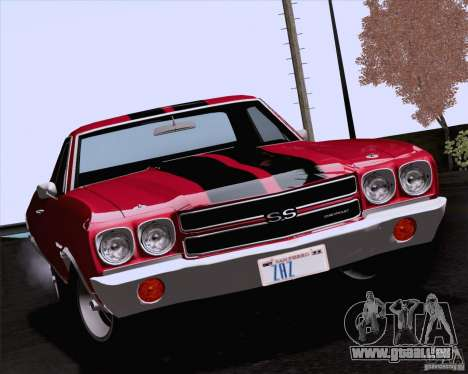 Chevrolet El Camino SS 70 Fixed Version pour GTA San Andreas