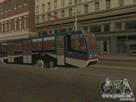 Die neue Straßenbahn für GTA San Andreas zweiten Screenshot