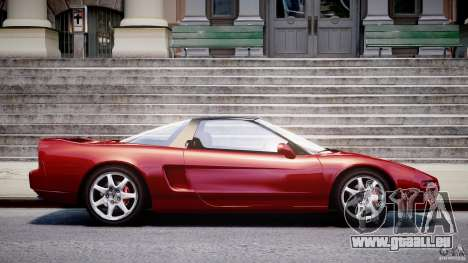 Acura NSX 1991 für GTA 4 linke Ansicht