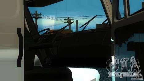 ZIL 5417 SuperZil pour GTA San Andreas vue de droite